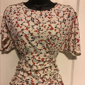 UNKNOWN Dresses - Silk Floral mini dress Made in France
